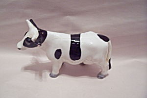 Holstein Cow Salt Shaker