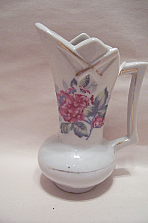 Occupied Japan Miniature Porcelain Pitcher