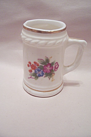 Bone China Floral Decorated Toothpick Holder