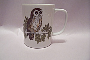 Fitz & Floyd China Owl Mug