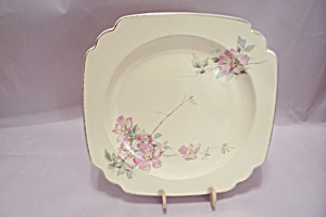 Homer Laughlin Wild Rose Pattern China Plate