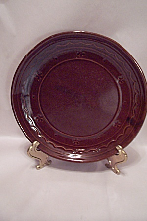 Marcrest Brown Stoneware Dinner Plate