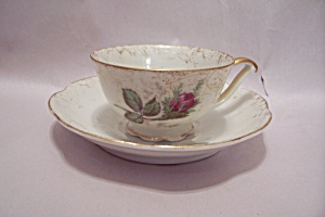 Occupied Japan Rose Bud  Demitasse Cup & Saucer (Image1)