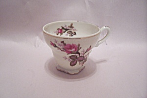 Occupied Japan Porcelain Rose Decorated Demitasse Cup