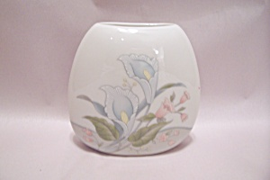 Occupied Japan Floral Decorated Vase
