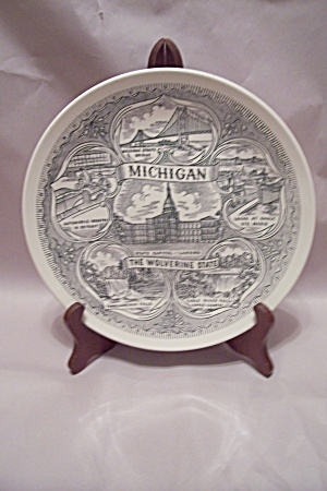 Michigan Souvenir Collector Plate