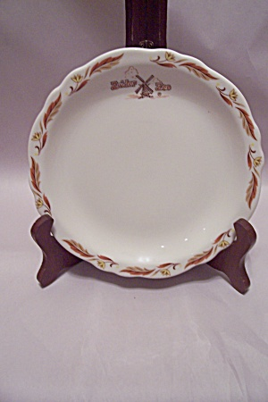 Homer Laughlin Best China Zuider Zee Pattern Plate
