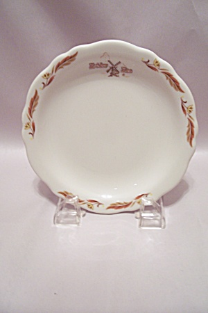 Homer Laughlin Zuider Zee Pattern Bread & Butter Plate