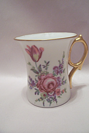 Porcelain Floral Motif Collector Teacup