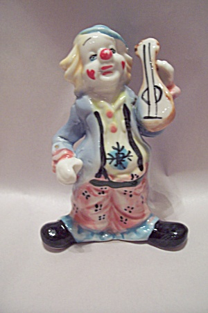Porcelain Clown Figurine