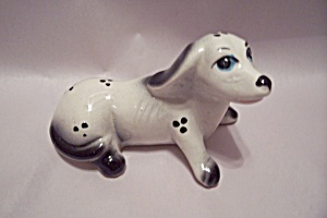 Porcelain Dog Figurine
