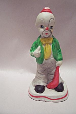 Handpainted Porcelain Clown Figurine (Image1)