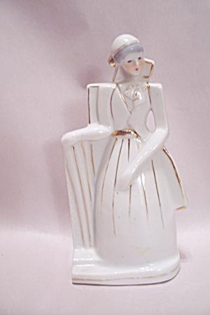 Art Deco Style Porcelain Female Figurine (Image1)