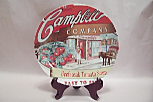 Campbell's Heritage Beefsteak Tomato Soup Plate