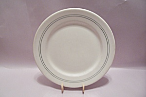 Ww-ii Military Mess Hall China Dinner Plate