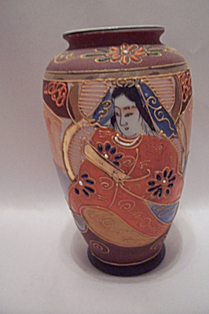 Occupied Japan Dragonware Style Vase