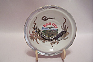 Dragon Ware Rock City, Tn Souvenir Ash Tray