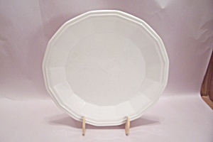 Homer Laughlin Colonial White China Dinner Plate (Image1)