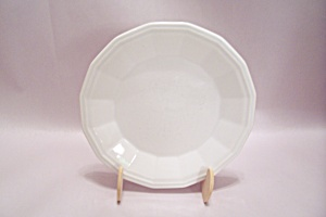 Homer Laughlin Colonial White Fine China Salad Plate