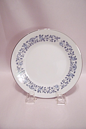 Noritake Royal Blue Pattern Fine China Pie Plate