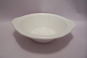 Homer Laughlin Colonial White Fine China Cereal Bowl (Image1)