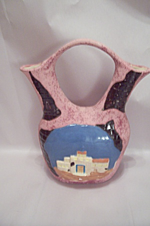 Southwestern Native American Pottery Wedding Jar (Image1)