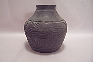Gray Low Fire Pottery Vessel