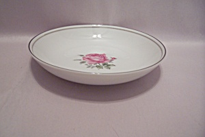 Imperial Rose Pattern Fine China Dessert Bowl