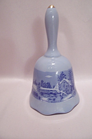 Currier & Ives Porcelain Collector Bell