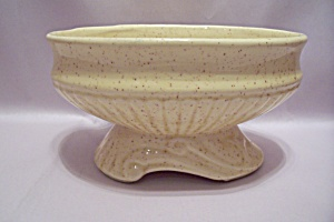 McCoy Pottery Oval Footed Yellow Planter (Image1)