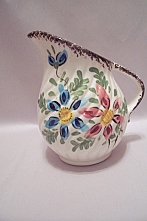 Japanese Handpainted Porcelain Pitcher (Image1)