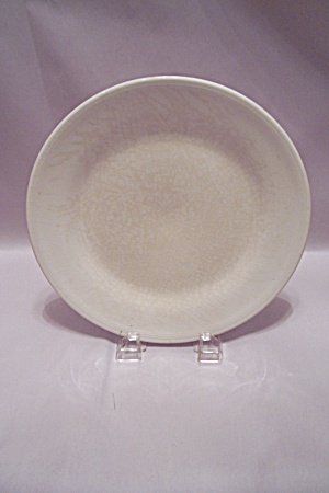 Knowles White Semi-vitreous China Dinner Plate