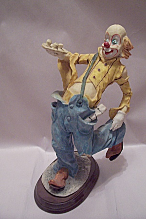 House Of Zog Porcelain Clown Figurine
