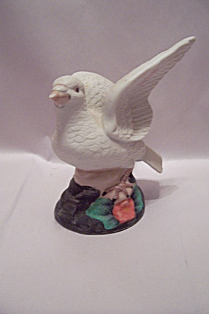Porcelain White Dove Figurine