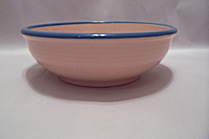 Rio Stoneware Pink Cereal Bowl
