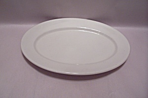 Syracuse White China Oval Platter