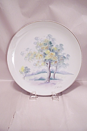 Japanese Hand Painted China Collector Plate (Image1)