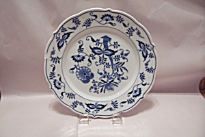 Blue Danube Fine China Dinner Plate