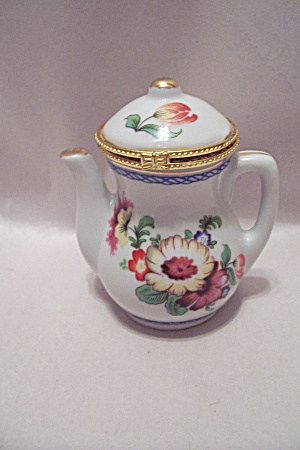 Porcelain Decorative Dresser Lidded Cache Pot (Image1)