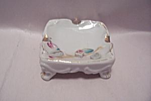 Elegant Porcelain Decorative Footed Ash Tray (Image1)
