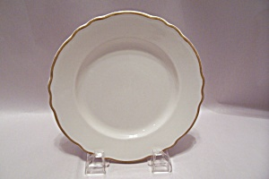 Homer Laughlin Best China RB-1111 White Salad Plate (Image1)