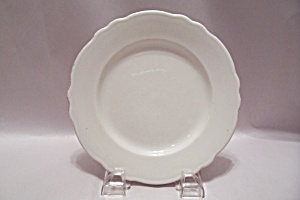 Homer Laughlin Eea-90 Pattern White China Salad Plate