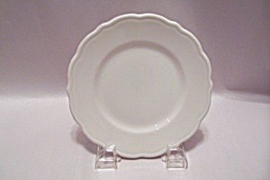 Syracuse Pattern 11-g White China Bread & Butter Plate