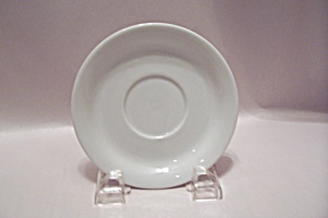 Homer Laughlin White China Saucer