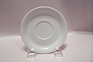 Homer Laughlin White China Saucer (Image1)