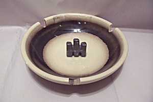 International Harvester Porcelain Advertising Ash Tray