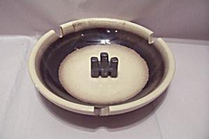 International Harvester Porcelain  Advertising Ash Tray (Image1)