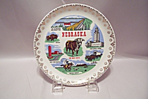 Nebraska Souvenir Collector Plate