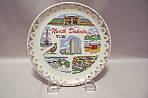 North Dakota Souvenir Collector Plate