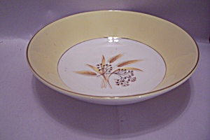 Century Service Autumn Gold Pattern Coup Soup Bowl